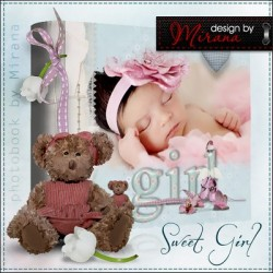Lovely Baby Girl Photo Album