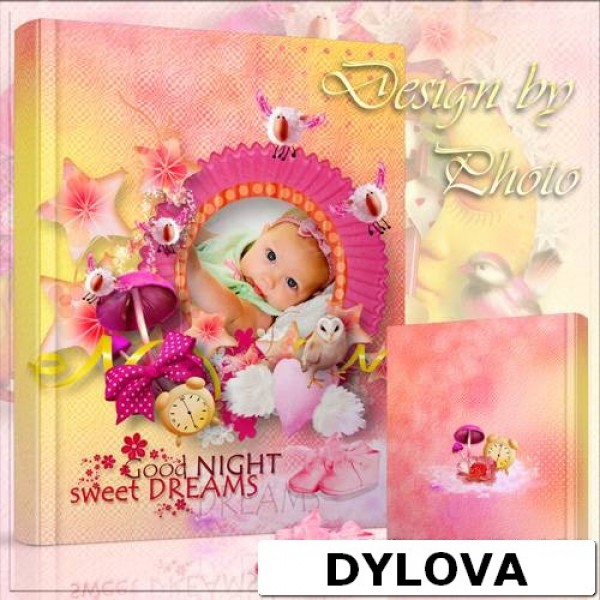 Sweet Dream Baby Girl Photo Album