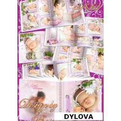 Baby Girl With Toy Photo Album