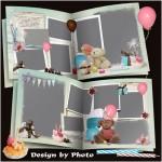 Bear Birthday Photo Album
