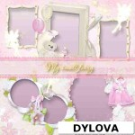 Pink Toy Birthday Photo Album