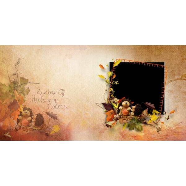 Rainbow of Autumn Color Photo Album