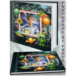 Kids in Moon Photo Album