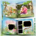 Kids and Frog Photo Album