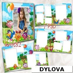 Colorful Kids Photo Album