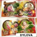 Animal and Fruit Kids Photo Album