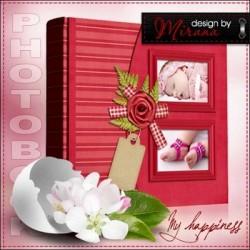 Baby Girl Scrapbook Photo Album
