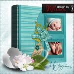 Baby Boy Scrapbook Photo Album