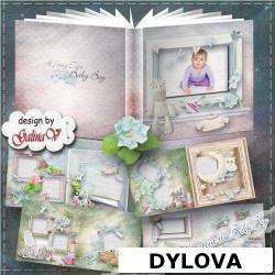 Fairy Tale Baby Boy Scrapbook Photo Album