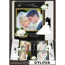 Roses and Wedding Ring Photo Album