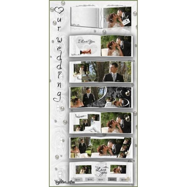 Outdoor Wedding Photo Album