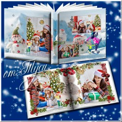 Christmas and Snowman Photo Album