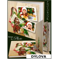 Warm Christmas Photo Album
