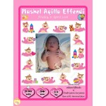 Gorgeous New Born Baby Frame 3D M