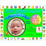 Gorgeous New Born Baby Frame 3D L