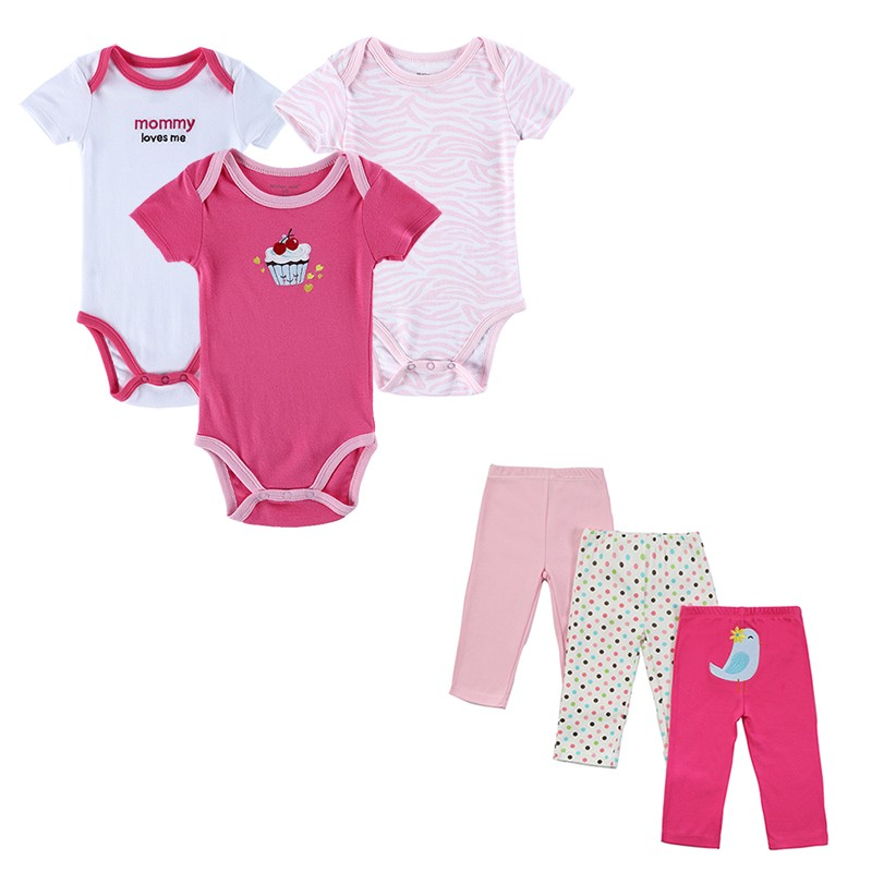 2016-New-6-piecesSet-Baby-Girl-Rompers-Pants-Summer-Style-Newborn-Baby-Clothing-Sets-Boy-Cotton-Conj-32661586317