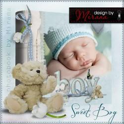 Lovely Baby Boy Photo Album