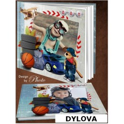 Kids Car Wheel Photo Album