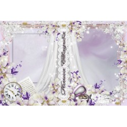 Purple Wedding Photo Album
